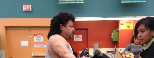 guy looks like latino kenny powers beer