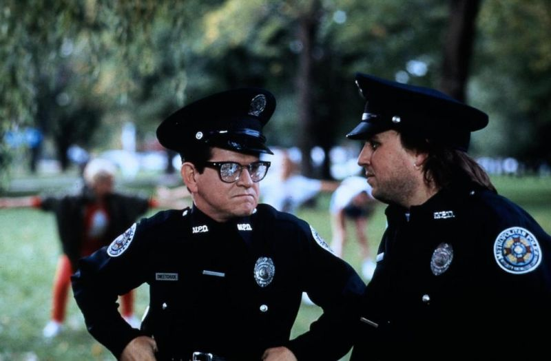Bobcat Goldthwait as Cadet Zed in Police Academy