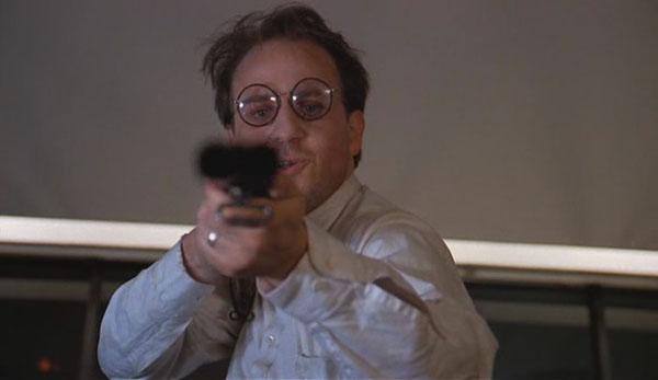 Bobcat Goldthwait in Scrooged