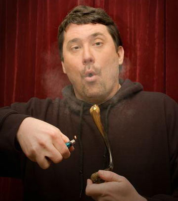 Doug Benson Lighting Up