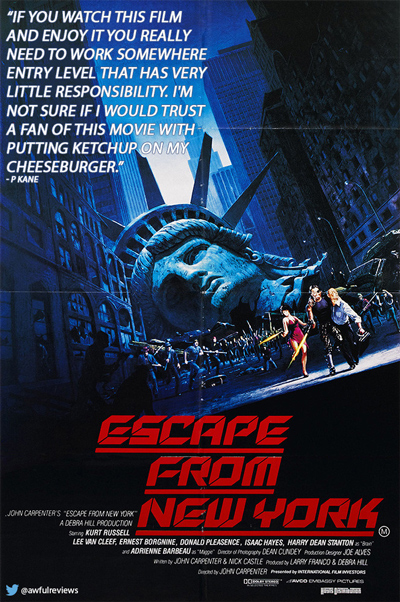 escape-new-york-1-star-amazon-review-movie-poster