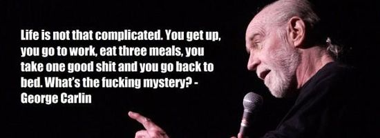 george carlin young