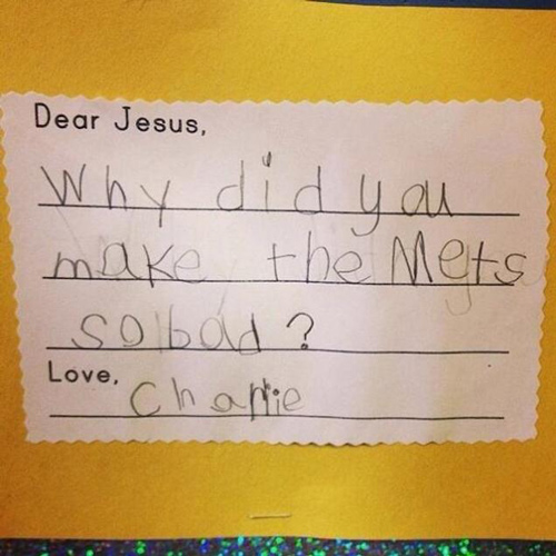 dear jesus why make mets