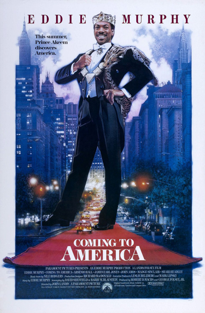 Best comedies ever Coming to America (1988)