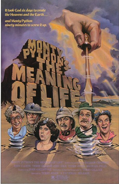 Best comedies ever Monty Python's Meaning of Life (1983)