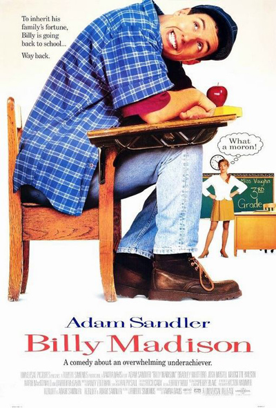 Best comedies ever Billy Madison (1995)