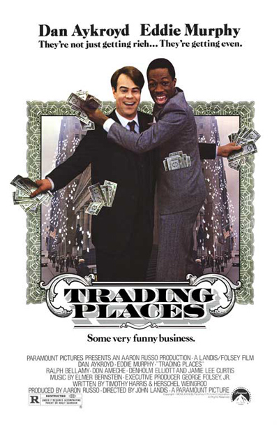Best comedies ever Trading Places (1983)