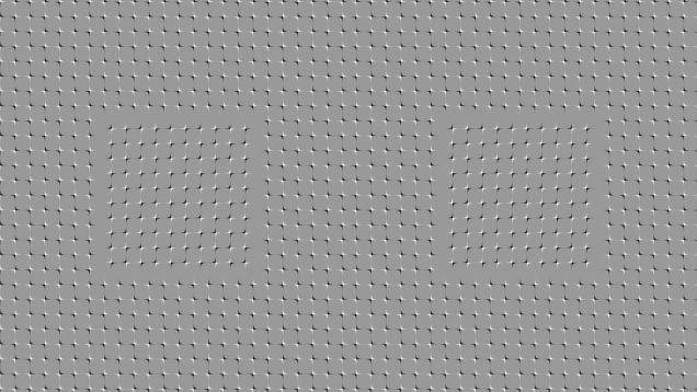 Anomalous motion optical illusion