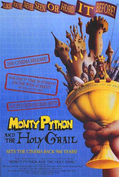 Best comedies ever Monty Python and the Holy Grail (1975)