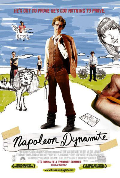 Best comedies ever Napoleon Dynamite (2004)