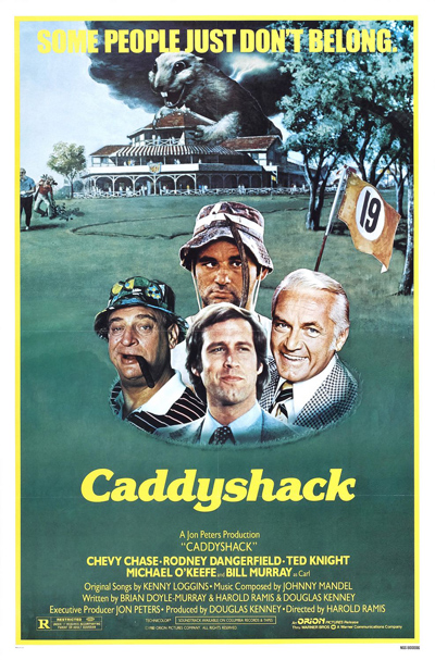 Best comedies ever Caddyshack (1980)