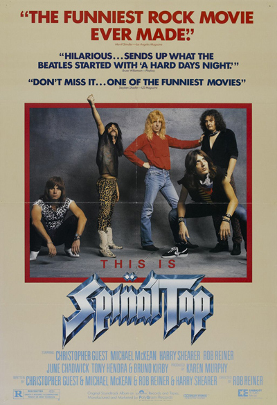 Best comedies ever Spinal Tap (1984)
