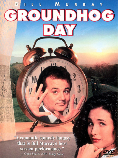 Best comedies ever Groundhog Day (1993)