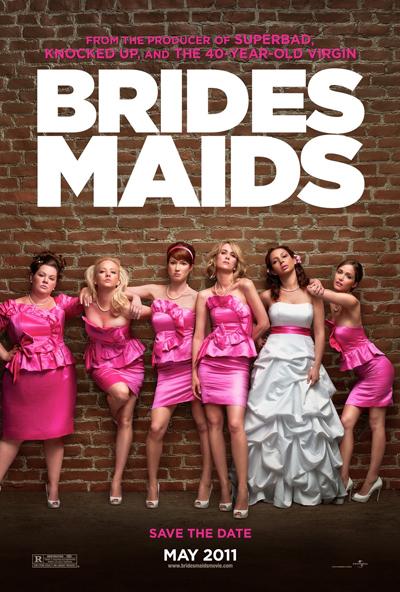 Best comedies ever Bridesmaids (2011)