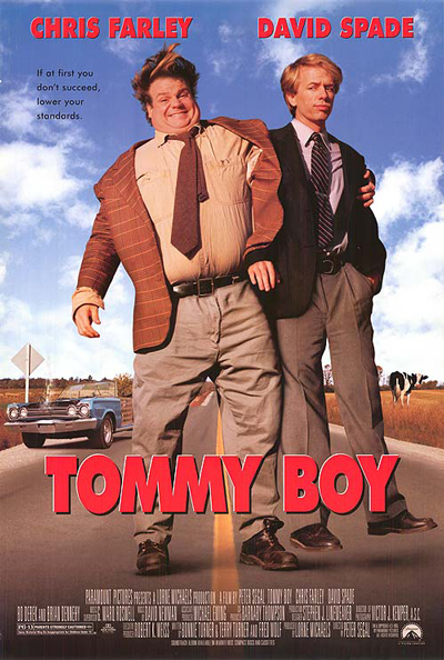 Best comedies ever Tommy Boy (1995)