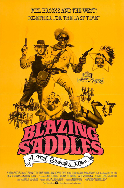Best comedies ever Blazing Saddles (1974)