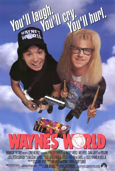 Best comedies ever Wayne's World (1992)