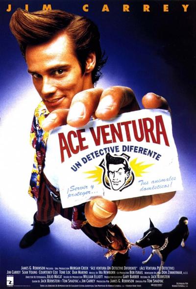 Best comedies ever Ace Ventura: Pet Detective (1994)