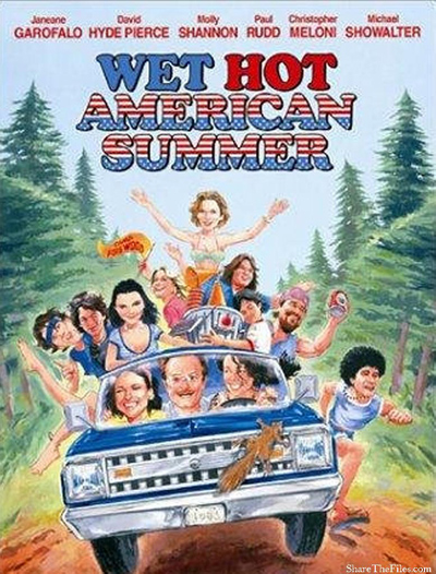 Best comedies ever Wet Hot American Summer (2001)
