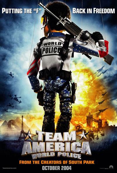 Best comedies ever Team America (2004)
