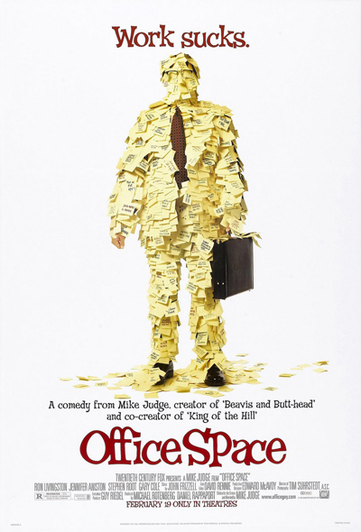 Best comedies ever Office Space (1999)