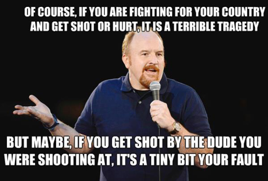 Louis-CK-quotes-die-country-fault