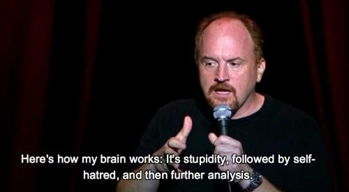 Louis-CK-quotes-how-brain-works