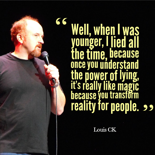 Louis-CK-quotes-lying