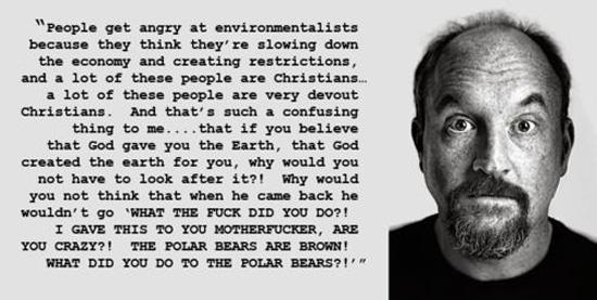 Louis-CK-quotes-polar-bears