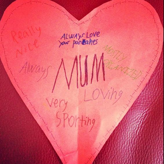 awkward mother's day card organized