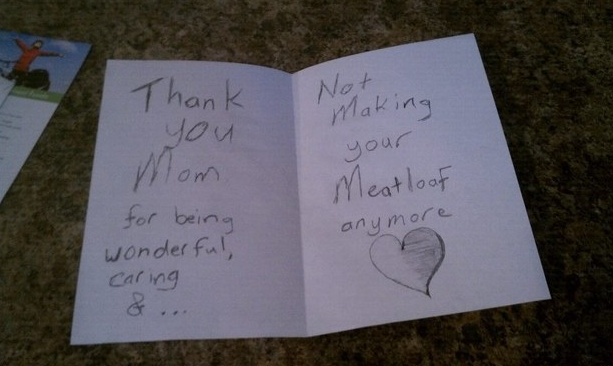 awkward mother's day card cooking