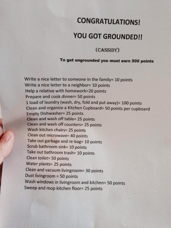 you got grounded game