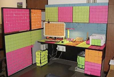 Funny Office Pranks stickies