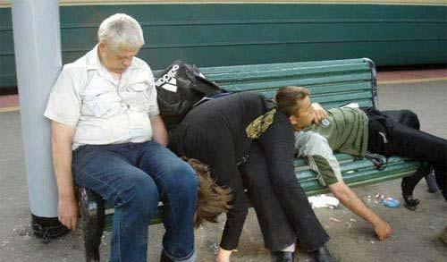 Irish Yoga Pictures bench team