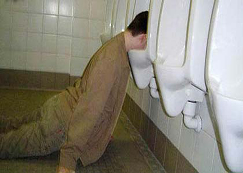 Irish Yoga Pictures urinal face