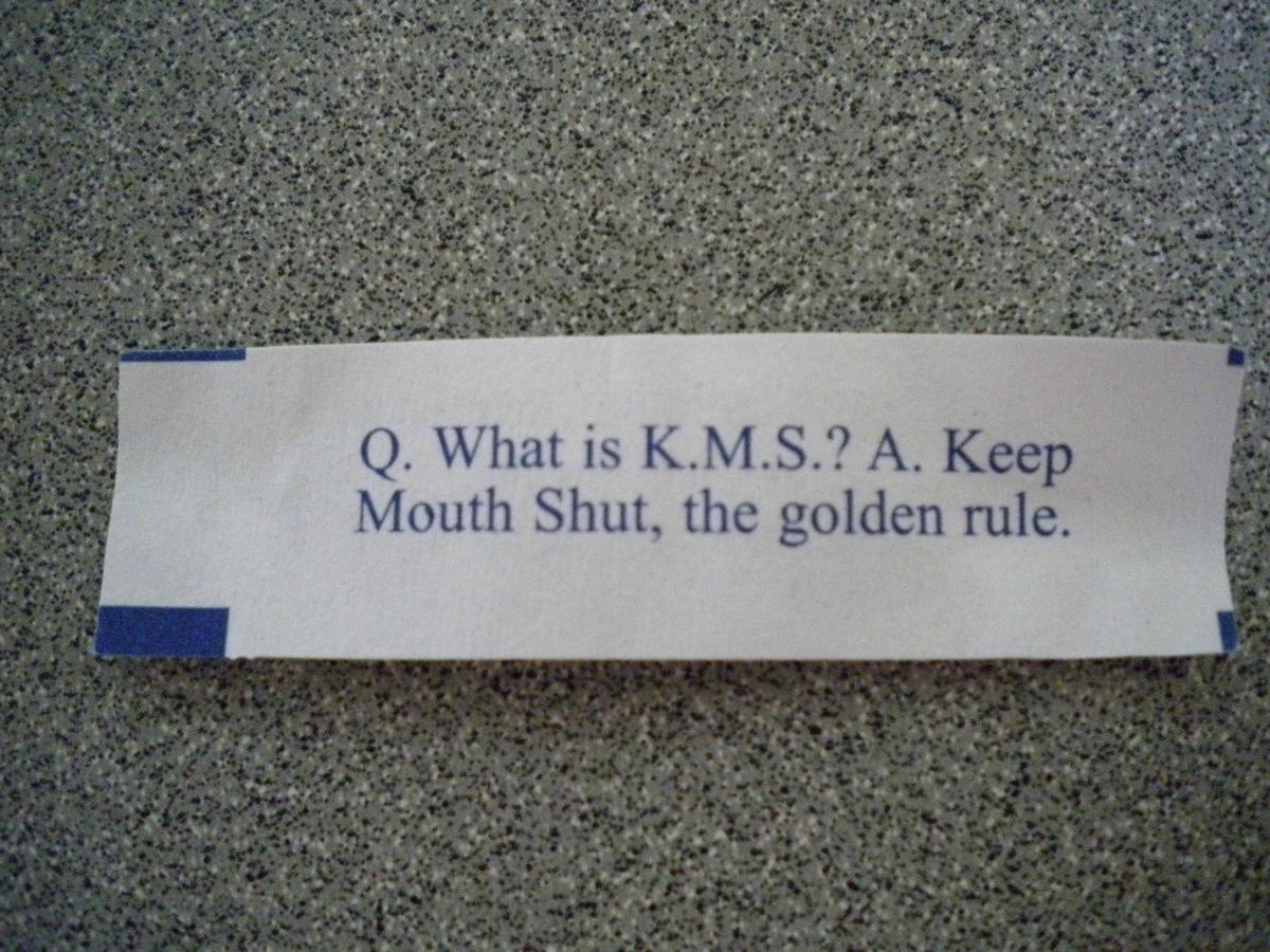 kms fortune cookie funny