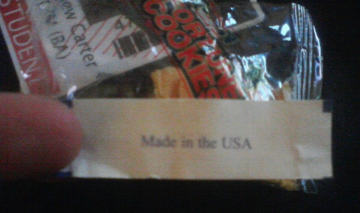 made in the usa fortune cookie