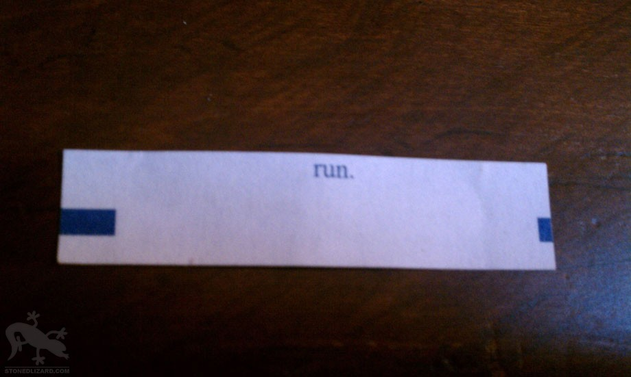 run fortune cookie