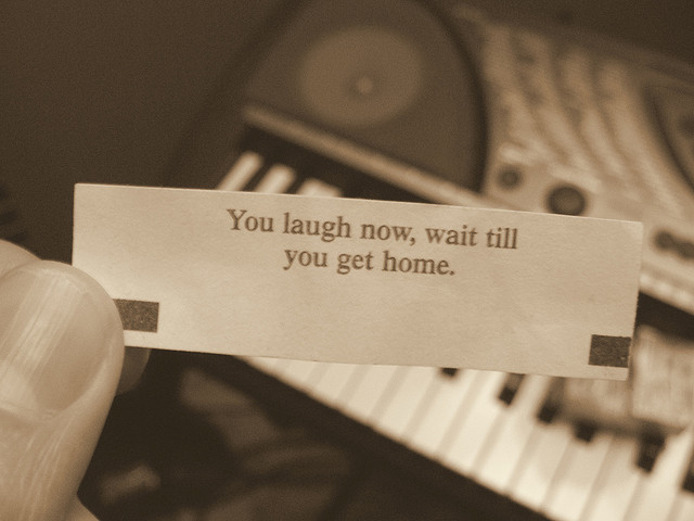 laugh now fortune cookie