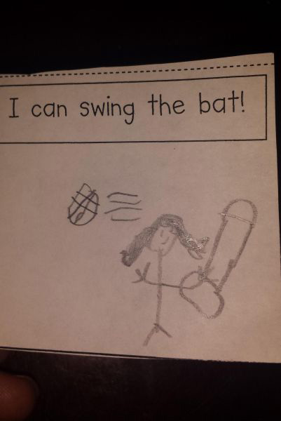 Funny Pictures bat kid drawing looks like penis