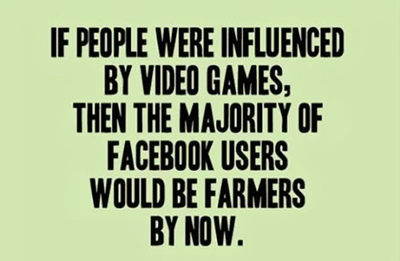 Funny Pictures facebook farmers video games