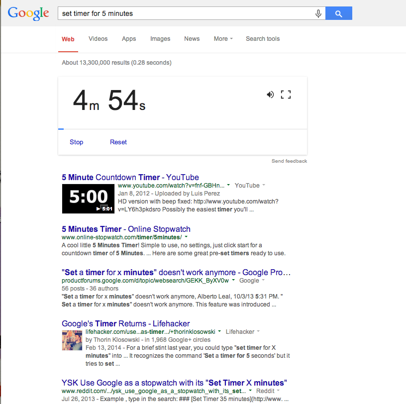 google trick 5