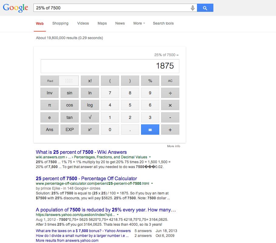 google trick 6