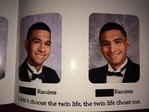 Funny Yearbook Quotes Twins: 105 Funny Yearbook Quotes