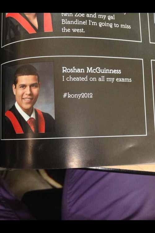 how to write a grad quote