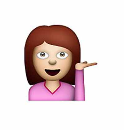 information desk person emoji