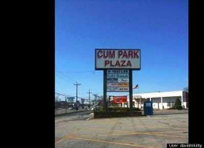 funny business sign