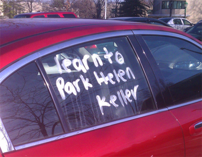 photograph regarding Printable Bad Parking Notes referred to as 34 Amusing Parking Notes - Dose of Amusing