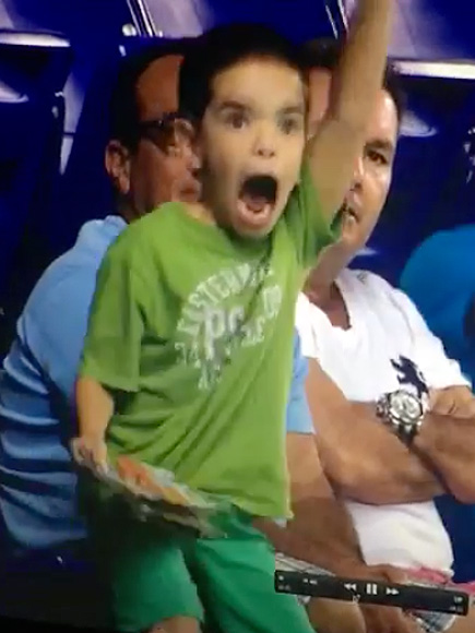 kid dance baseball game