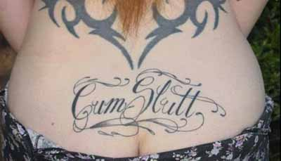 funny tramp stamp